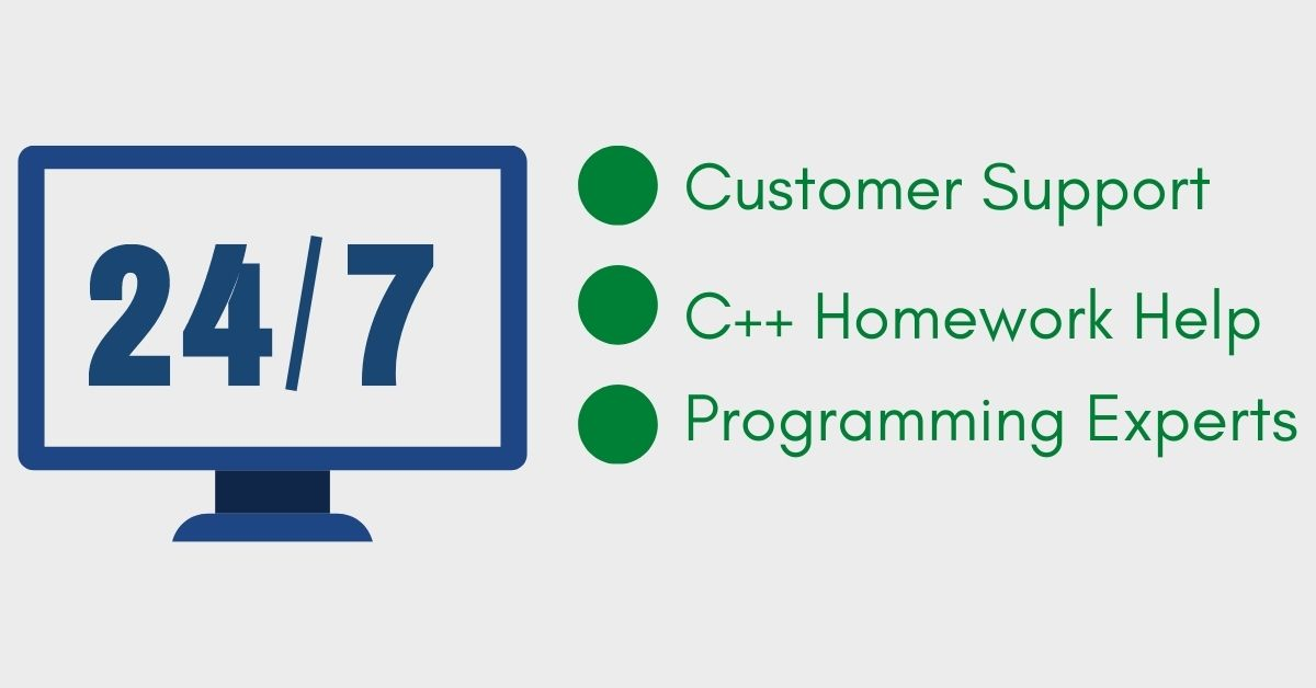 24/7 C++ Programming assignment help